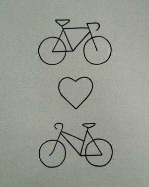 Zakochane-rowery-wzor
