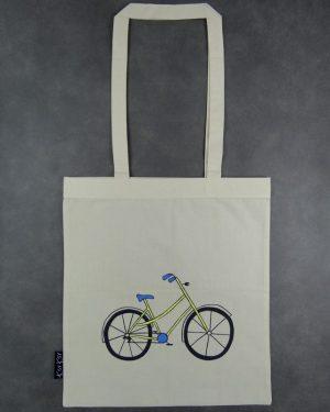 rower zolty - torba