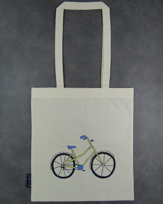 rower zolty – torba