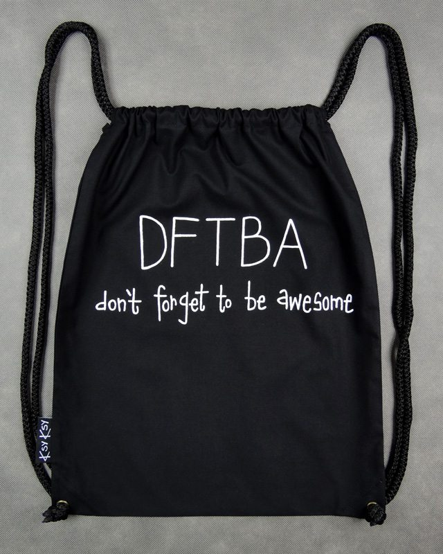 DFTBA-plecak